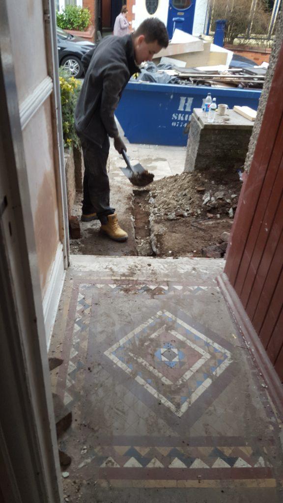 new water mains, 25mm mdpe, water meter, plumbing liverpool, plumber liverpool