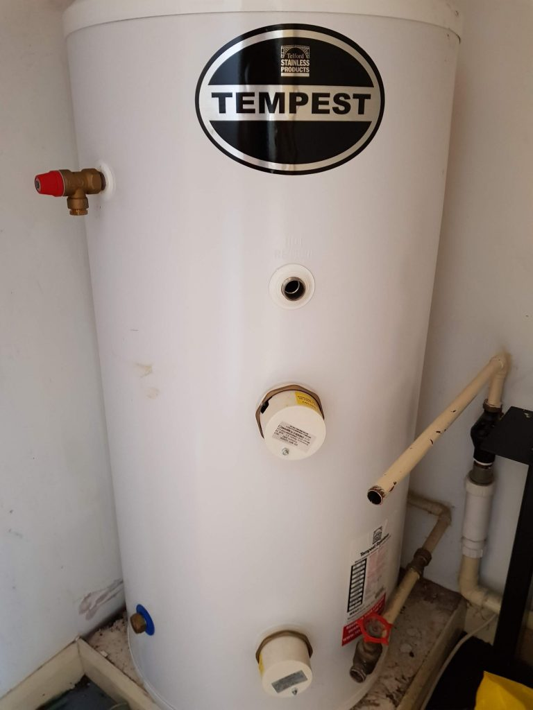 Hot water cylinder, unvented hot water cylinder, water cylinder, direct hot water cylinder, indirect hot water cylinder