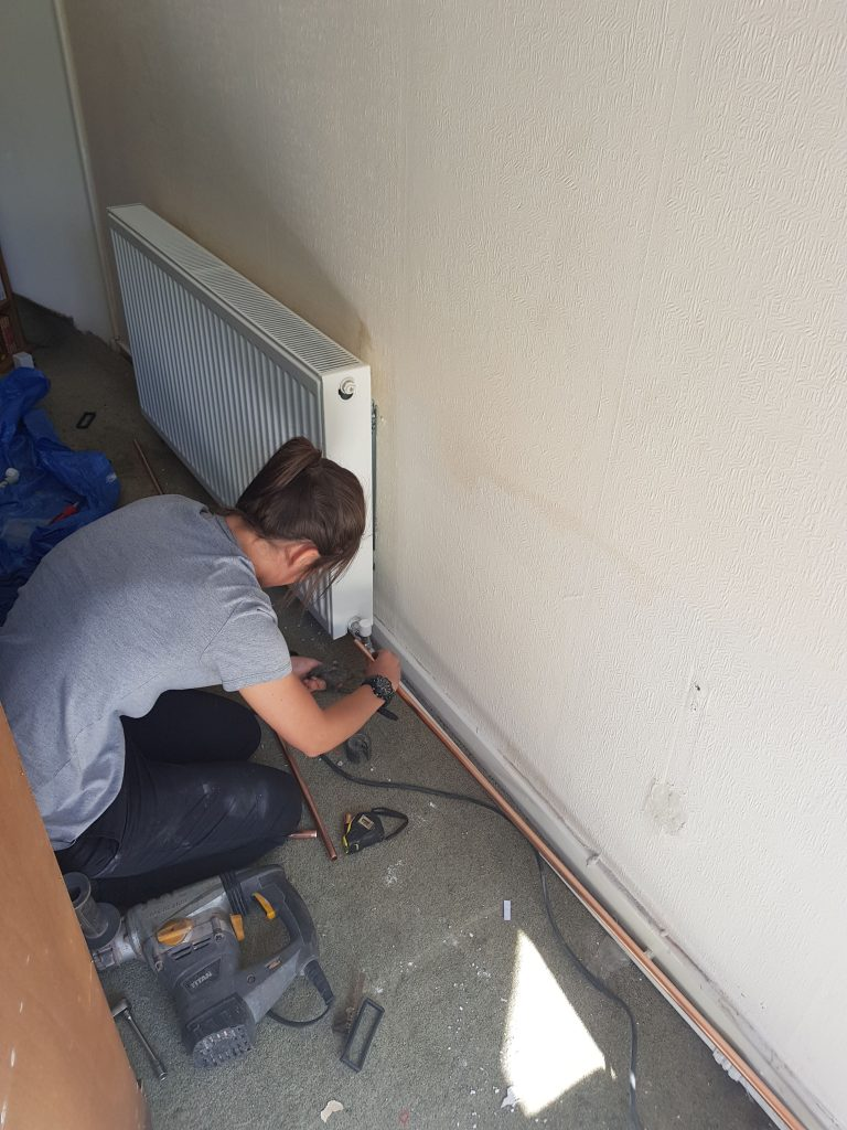 female plumber, central heating services liverpool, boiler repairs, boiler installations
